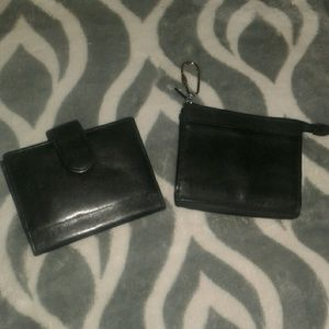 2 Buxton Leather Wallets